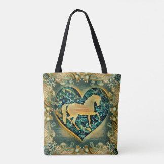 Show Horse Tote Bag