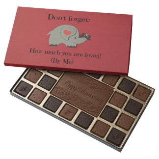 Show how much you love your spouse! assorted chocolates