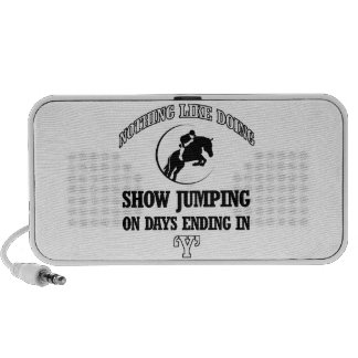 show jump designs speaker system