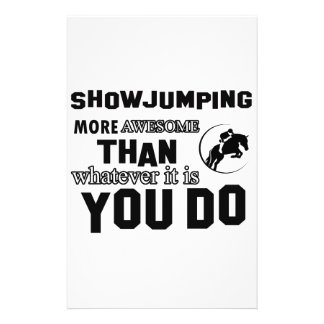 show jump  more awesome stationery paper