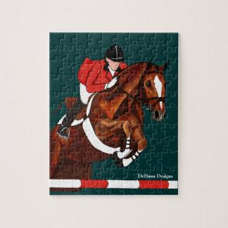Show Jumper Equestrian Puzzle
