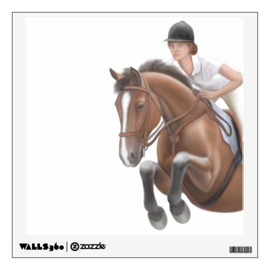 Show Jumper Equestrian Wall Decal