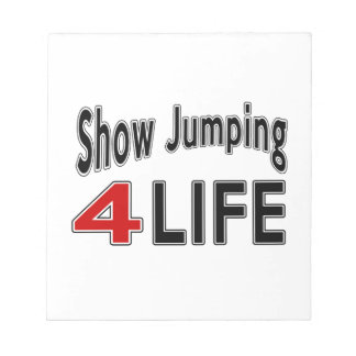 Show Jumping For Life Notepad