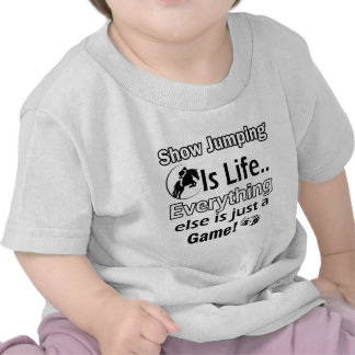 Show Jumping gift items Shirts