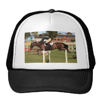 Show jumping horse and rider 2 trucker hat