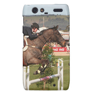Show jumping horse and rider droid RAZR covers
