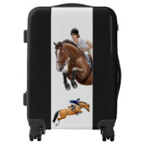 Show Jumping Horse Equestrian Luggage