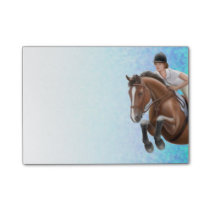 Show Jumping Horse Equestrian Notes