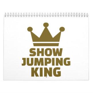 Show jumping king calendar