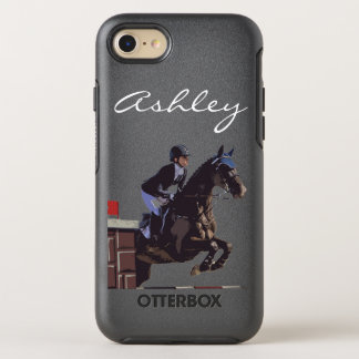 Show Jumping OtterBox Symmetry iPhone 8/7 Case