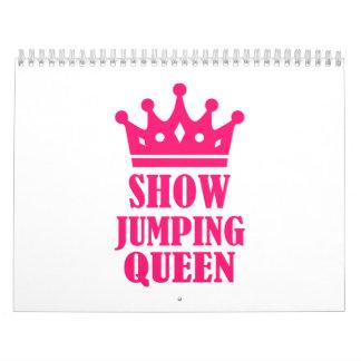 Show jumping queen calendar
