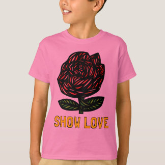 """Show Love"" Hanes TAGLESS® T-Shirt"