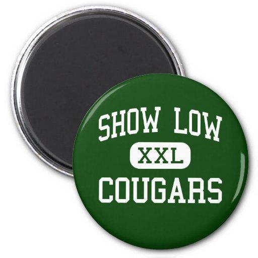 Show Low - Cougars - Junior - Show Low Arizona Fridge Magnets