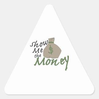 Show Me Bag Triangle Sticker