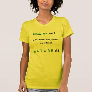 Show Me Ladies T-shirt