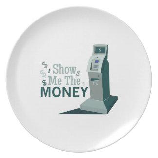 Show Me Money Plate