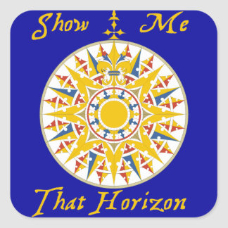 Show Me That Horizon sticker - pack of 20
