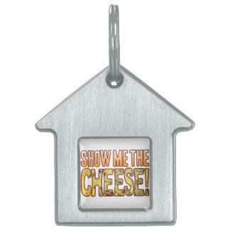 Show Me The Blue Cheese Pet ID Tag
