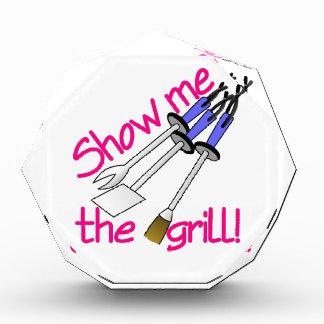 Show Me The Grill Acrylic Award