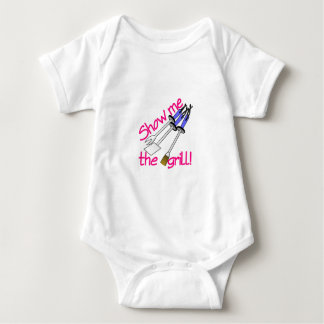 Show Me The Grill Baby Bodysuit
