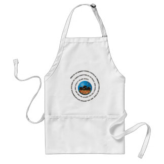Show Me The Manner Globe Aprons