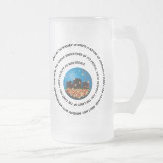 Show Me The Manner Globe Coffee Mugs