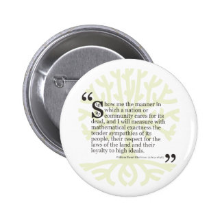 Show Me The Manner Pinback Button