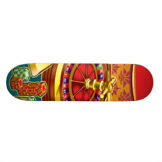 Show Me The Money Gambler Skateboard Deck