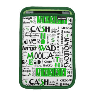 Show me the Money iPad Mini Sleeve Horizontal