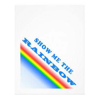 Show Me The Rainbow Full Color Flyer