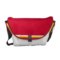 Show Me the Red Cap'n Messenger Bag
