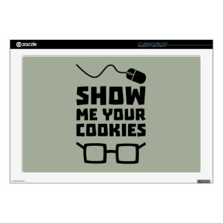 Show me your Cookies Geek Zb975 Decals For Laptops