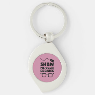 Show me your Cookies Geek Zb975 Keychain