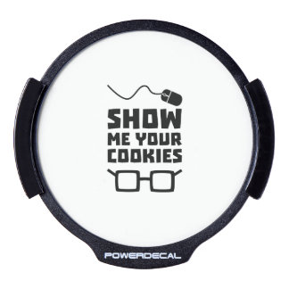 Show me your Cookies Geek Zb975 LED Window Decal