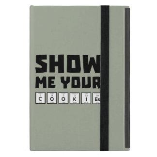 Show me your cookies nerd Zh454 iPad Mini Cover