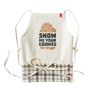 Show me your Cookies Znwm6 Zazzle HEART Apron