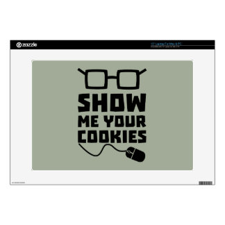 Show me your Cookies Zx363 Laptop Skins