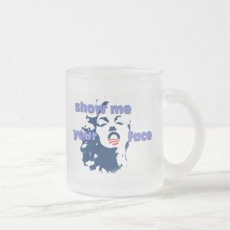 Show me your O(bama) face mug