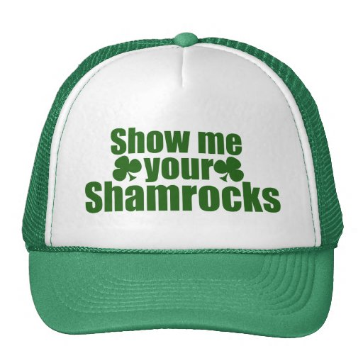 Show me your Shamrocks Mesh Hats