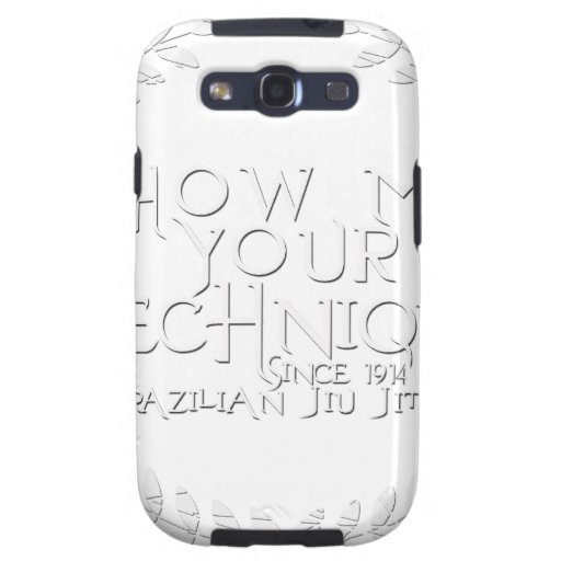 Show Me Your Technique - since 1914 Galaxy S3 Cover