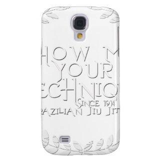 Show Me Your Technique - since 1914 Samsung Galaxy S4 Case