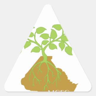 Show Montgomery pride wherever you go Triangle Sticker