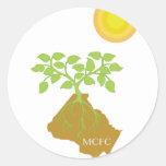 Show Montgomery pride wherever you go Stickers