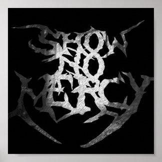 Show no Mercy Logo Poster
