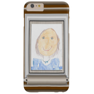 Show Off Your Kid's Art or Photo Barely There iPhone 6 Plus Case