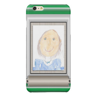 Show Off Your Kid's Art or Photo Glossy iPhone 6 Plus Case