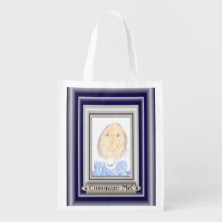 Show Off Your Kid's Art or Photo Grocery Bag