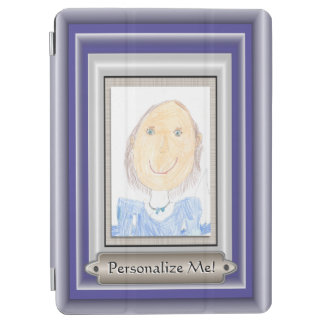 Show Off Your Kid's Art or Photo iPad Air Cover