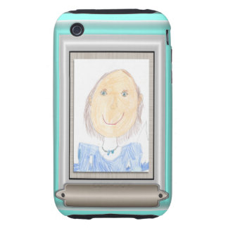 Show Off Your Kid's Art or Photo iPhone 3 Tough Cover