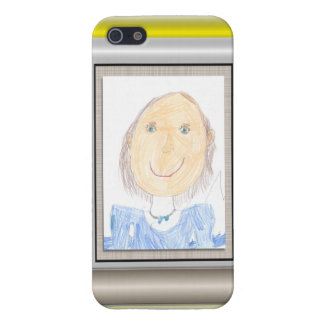 Show Off Your Kid's Art or Photo iPhone SE/5/5s Cover